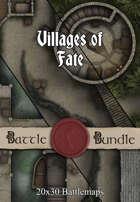 Villages of Fate | 30x20 Multi-Level Battlemaps [BUNDLE]
