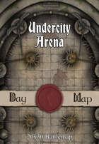 30x20 Battlemap - Undercity Arena