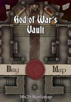 30x20 Battlemap - God of War's Vault