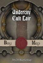 30x20 Battlemap - Undercity Cult Lair
