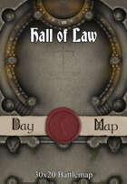 30x20 Battlemap - Hall of Law