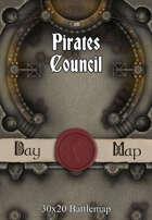 30x20 Battlemap - Pirates Council