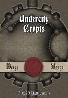 30x20 Battlemap - Undercity Crypts