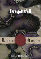Dragonsfall | 30x20 Battlemaps [BUNDLE]