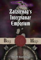 30x20 Battlemap - Zalzornag's Interplanar Emporium