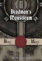 30x20 Battlemap - Deadman's Mausoleum