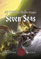Seven Seas Battlemap Bundle - 49 Maps for Sailing Adventures [BUNDLE]