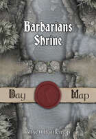 30x20 Battlemap - Barbarians Shrine