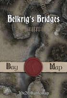 30x20 Battlemap - Belkrig's Bridges