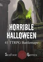 Horrible Halloween - 41 Battlemaps for Scary Adventures [BUNDLE]