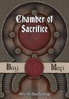 40x30 Battlemap - Chamber of Sacrifice
