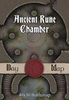 40x30 Battlemap - Ancient Rune Chamber