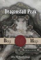 40x30 Battlemap - Dragonsfall Peak