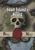 30x20 Multi-Level Battlemap - Skull Island's Hoard