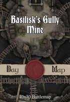 40x30 Battlemap - Basilisk's Gully Mine