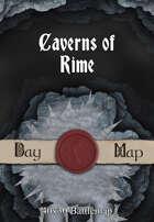 40x30 Battlemap - Caverns of Rime