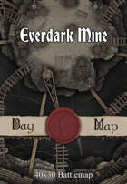 40x30 Battlemap - Everdark Mine
