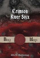 40x30 Battlemap - Crimson River Styx