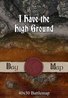 40x30 Battlemap - I Have the High Ground