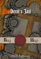 30x20 Battlemap - Devil's Jail