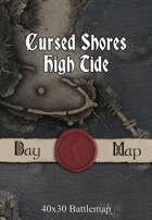 40x30 Battlemap - Cursed Shores High Tide