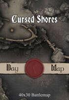 40x30 Battlemap - Cursed Shores