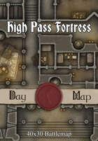 40x30 Battlemap - High Pass Fortress