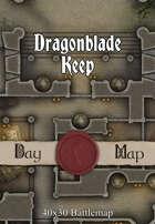 40x30 Battlemap - Dragonblade Keep