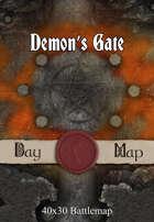 40x30 Battlemap - Demon's Gate