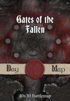 40x30 Battlemap - Gates of the Fallen