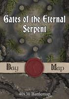 40x30 Battlemap - Gates of the Eternal Serpent