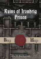 40x30 Battlemap -  Ruins of Ironbrig Prison