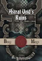 40x30 Battlemap - Astral Void's Ruins