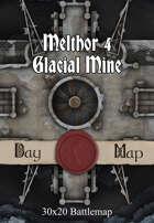 30x20 Battlemap - Melthor 4 Glacial Mine