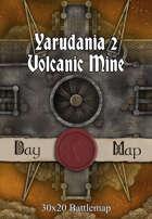 30x20 Battlemap - Yarudania 2 Volcanic Mine