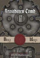 40x30 Battlemap - Frostbitten Tomb