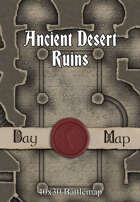 40x30 Battlemap - Ancient Desert Ruins