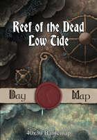 40x30 Battlemap -  Reef of the Dead Low Tide