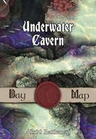 40x30 Battlemap - Underwater Cavern