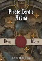 40x30 Battlemap - Pirate Lord's Arena