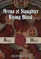 40x30 Battlemap - Arena of Slaughter Rising Blood