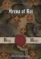 40x30 Battlemap - Arena of Rot
