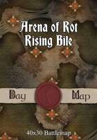 40x30 Battlemap - Arena of Rot Rising Bile