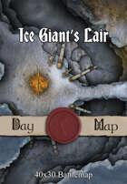 40x30 Battlemap - Ice Giant's Lair