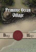 40x30 Battlemap - Primitive Ocean Village