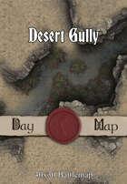 40x30 Battlemap - Desert Gully