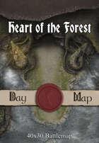 40x30 Battlemap - Heart of the Forest