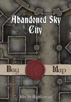 40x30 Battlemap - Abandoned Sky City