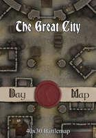 40x30 Battlemap - The Great City