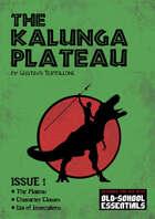 The Kalunga Plateau - Issue 1